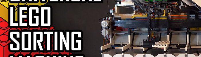 The WORLD'S FIRST Universal LEGO Sorting Machine