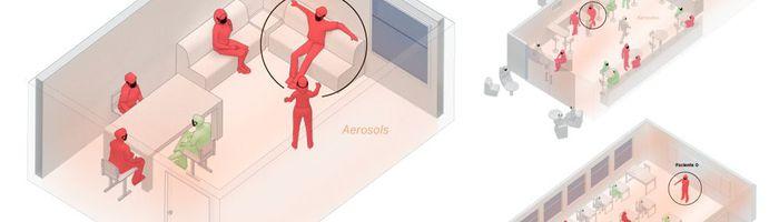 A room, a bar and a classroom: how the coronavirus is spread through the air