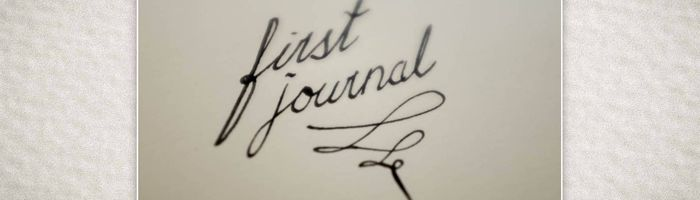 Journaling, a different kind of writing.