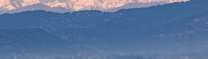 Mount Everest is Visible From Kathmandu, Nepal for First Time in Living Memory - SnowBrains