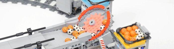 Lego GBC module: Cars with adaptive cruise control(subtitled)