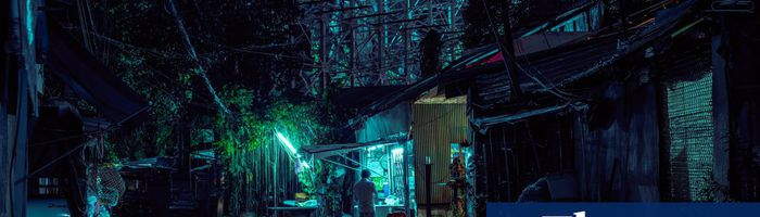 Bangkok's glowing hidden spots of night-time peace – in pictures